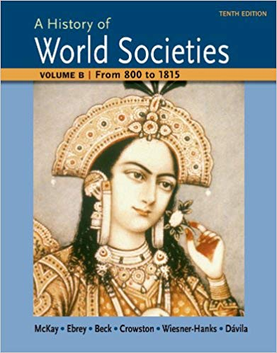 A History of World Societies 10th Edition