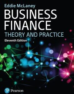 Business Finance 11th Edition