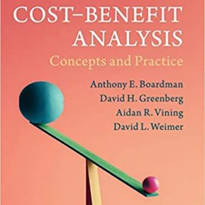 Cost-Benefit Analysis Concepts and Practice 5th Edition