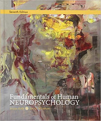 Fundamentals of Human Neuropsychology 7th Edition, ISBN-13: 978-1429282956