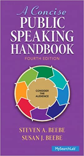 A Concise Public Speaking Handbook 4th Edition
