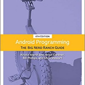 Android Programming The Big Nerd Ranch Guide 4th Edition
