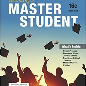 Becoming a Master Student 16th Edition