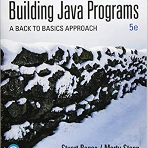 Building Java Programs A Back to Basics Approach 5th Edition