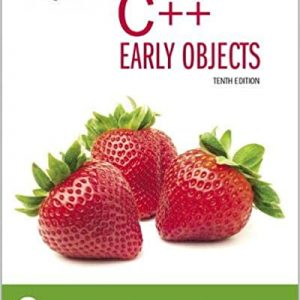 Starting Out with C++ Early Objects 10th Edition