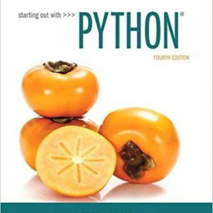 Starting Out with Python 4th Edition