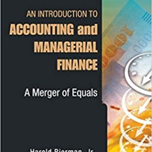 An Introduction to Accounting and Managerial Finance A Merger of Equals