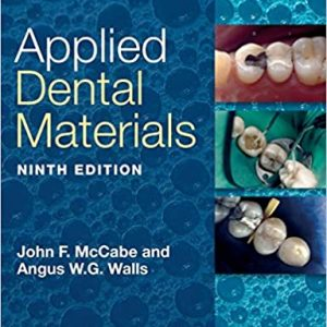 Applied Dental Materials 9th Edition by John F. McCabe