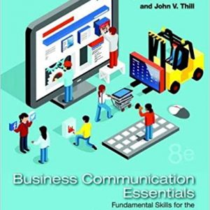 Business Communication Essentials 8th Edition