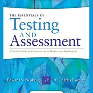 Essentials of Testing and Assessment 3rd Edition by Edward S. Neukrug