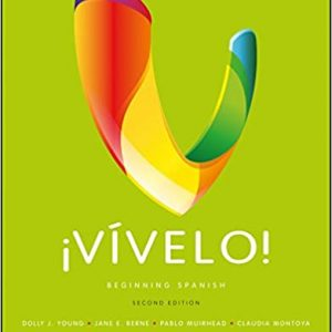 Vívelo Beginning Spanish 2nd Edition by Dolly J. Young