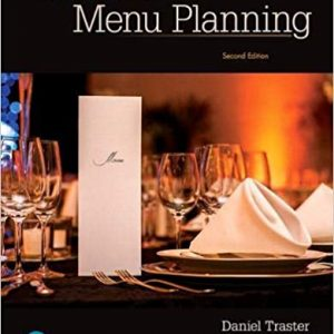 Foundations of Menu Planning 2nd Edition by Daniel Traster