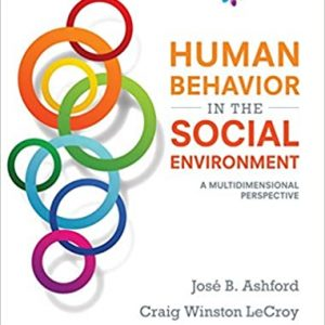 Human Behavior in the Social Environment A Multidimensional Perspective 6th Edition