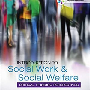 Introduction to Social Work and Social Welfare 5th Edition