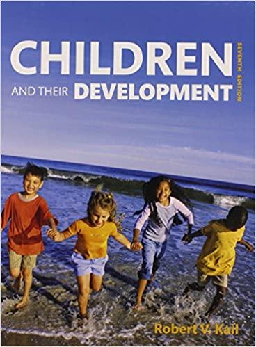 Children and Their Development 7th Edition