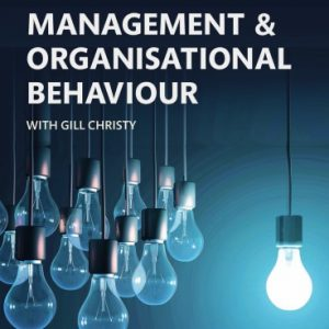 Management and Organisational Behaviour 11th Edition