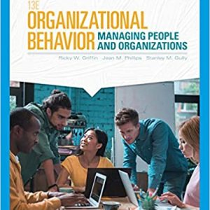 Organizational Behavior Managing People and Organizations 13th Edition
