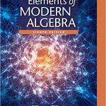 Elements of Modern Algebra 8th Edition by Linda Gilbert