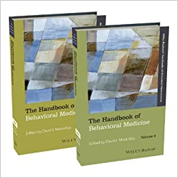 The Handbook of Behavioral Medicine by David I. Mostofsky