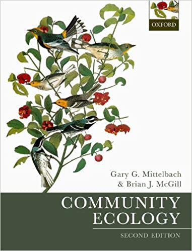 Community Ecology 2nd Edition by Gary G. Mittelbach, ISBN-13: 978-0198835851