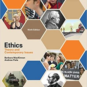 Ethics Theory and Contemporary Issues 9th Edition